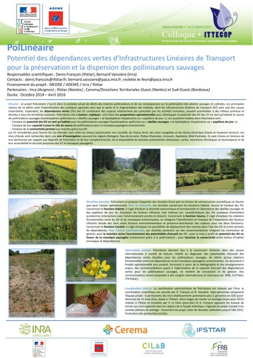 Seminaire 2015 poster POLLINEAIRE
