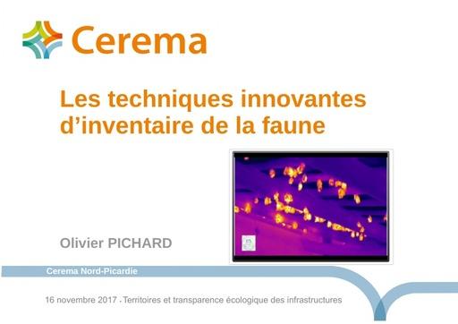 JTNTE 08 Pichard techniques innovantes inventaire faune