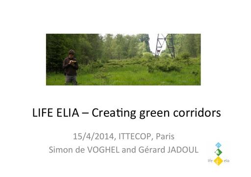 Seminaire 2014 Presentation LIFE ELIA