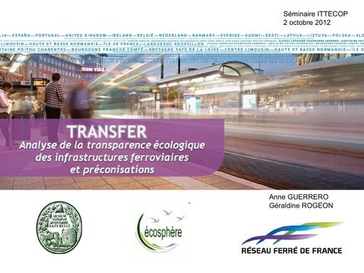 Seminaire 2012 ppt TRANSFER