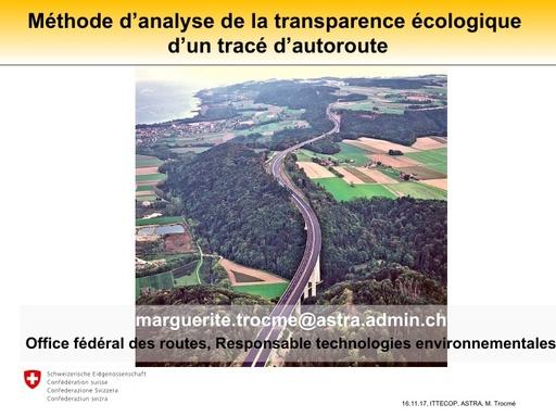 JTNTE 03 Analyse transparence cologique trac autoroutier  Trocm 20171116