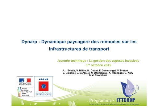 Seminaire 2015 ppt DYNARP