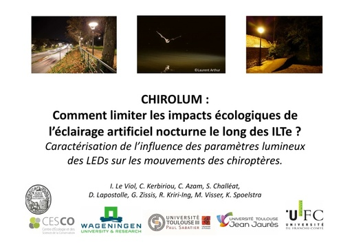 CHIROLUM Colloque ITTECOP octobre 2017
