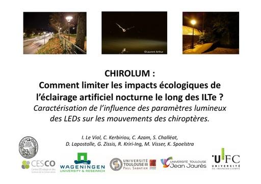 CHIROLUM Colloque ITTECOP octobre 2017