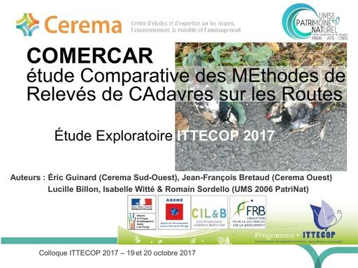 COMERCAR Colloque ITTECOP octobre 2017