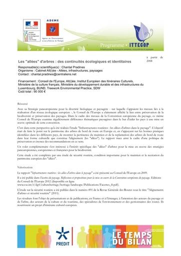 Seminaire 2013 Fiche Pradines