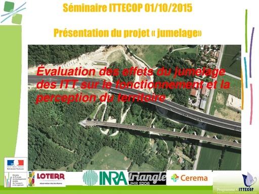 Seminaire 2015 ppt JUMELAGE