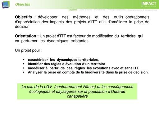 Seminaire 2015 ppt IMPACT