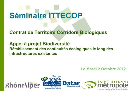 Seminaire 2012 ppt St Etienne