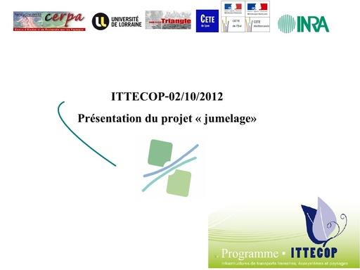 Seminaire 2012 ppt Jumelage