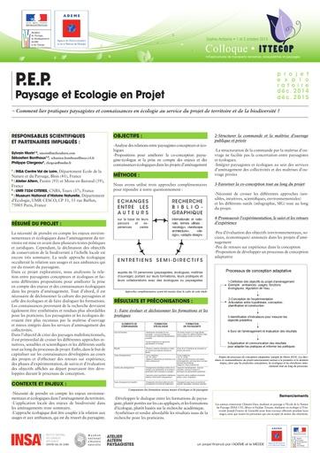 Seminaire 2015 poster PEP