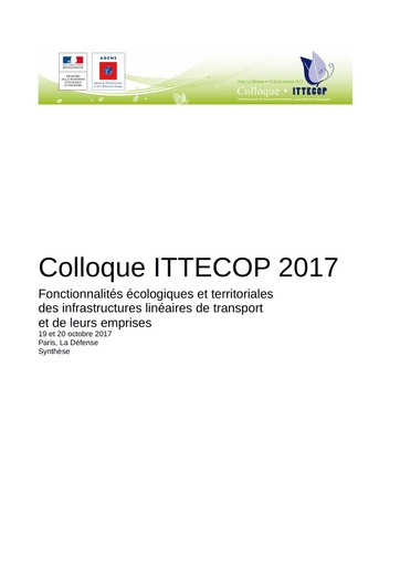 Synthese ITTECOP colloque 2017
