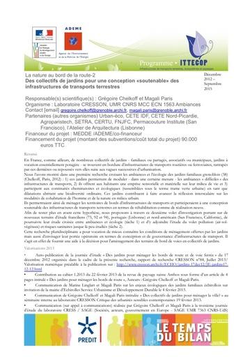 Seminaire 2013 Fiche Nature Route2