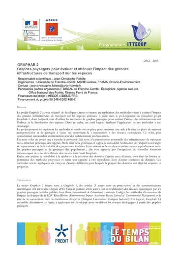Seminaire 2013 Fiche GRAPHAB2