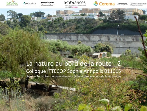 Seminaire 2015 ppt NATURE ROUTE