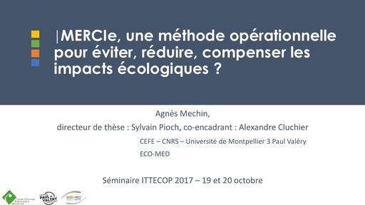 MERCIe Colloque ITTECOP octobre 2017