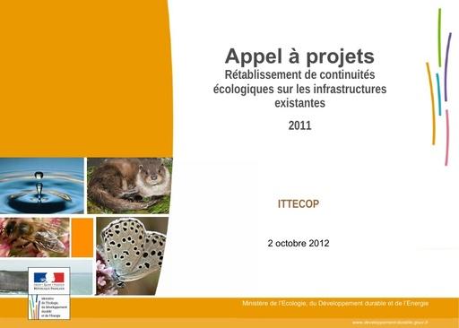 Seminaire 2012 ppt TR1 F ALLAG