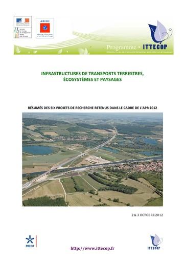 Seminaire 2012 Livret Ittecop