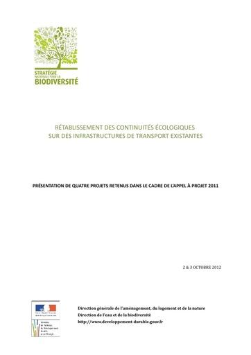 Seminaire 2012 Livret DEB