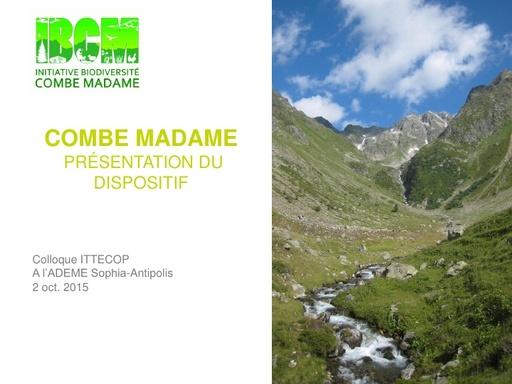 Seminaire 2015 ppt Combe Madame