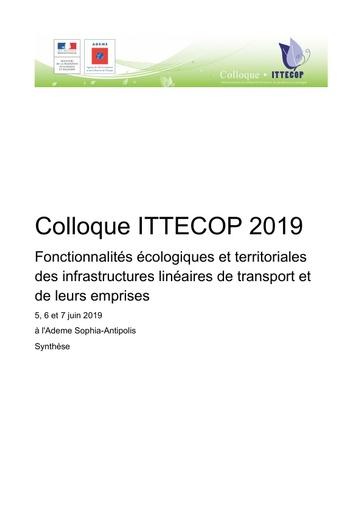 00 2019 Colloque ITTECOP Synthèse