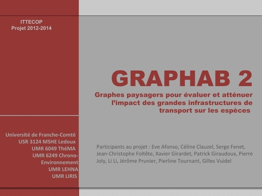 Seminaire 2012 ppt GRAPHAB2