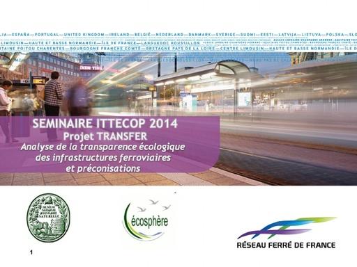 Seminaire 2014 Presentation TRANSFER