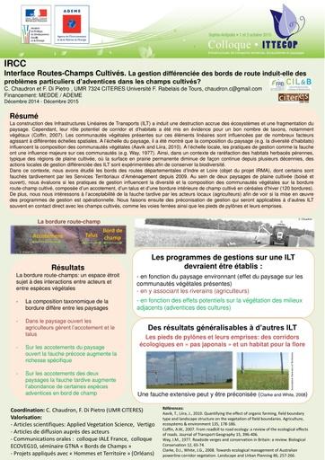 Seminaire 2015 poster IRCC