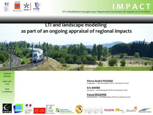 Seminaire 2014 Presentation IMPACT
