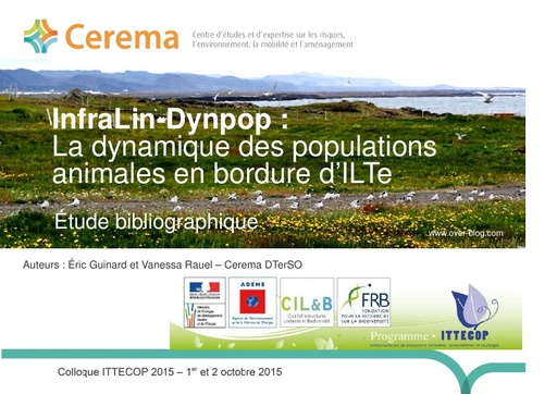 Seminaire 2015 ppt InfraLin Dynpop